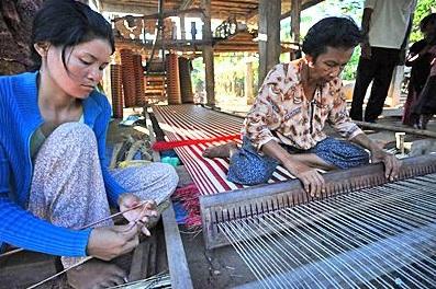 Cambodia Weaving